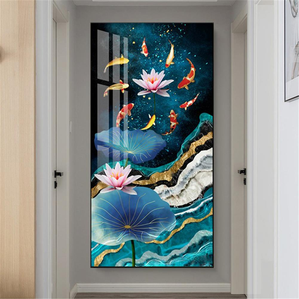 art-kit DIY 5D Diamond Painting Cross Stitch Diamond Embroidery Full Drill Christmas Gift Home Living Room office Wall Decoration HOB1804596 2 1