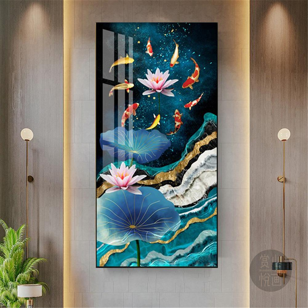 art-kit DIY 5D Diamond Painting Cross Stitch Diamond Embroidery Full Drill Christmas Gift Home Living Room office Wall Decoration HOB1804596 3 1