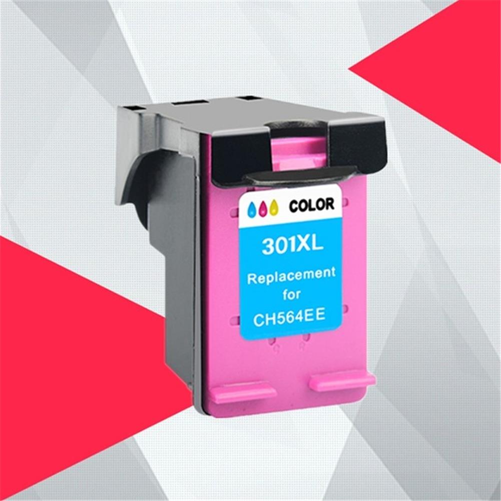 printer-ink-toner HP 301XL ink Cartridge Replacement for CH563Z/CH564Z HP301 Deskjet Deskjet 1000 1050 2000 2050 Printer HOB1805619 2 1