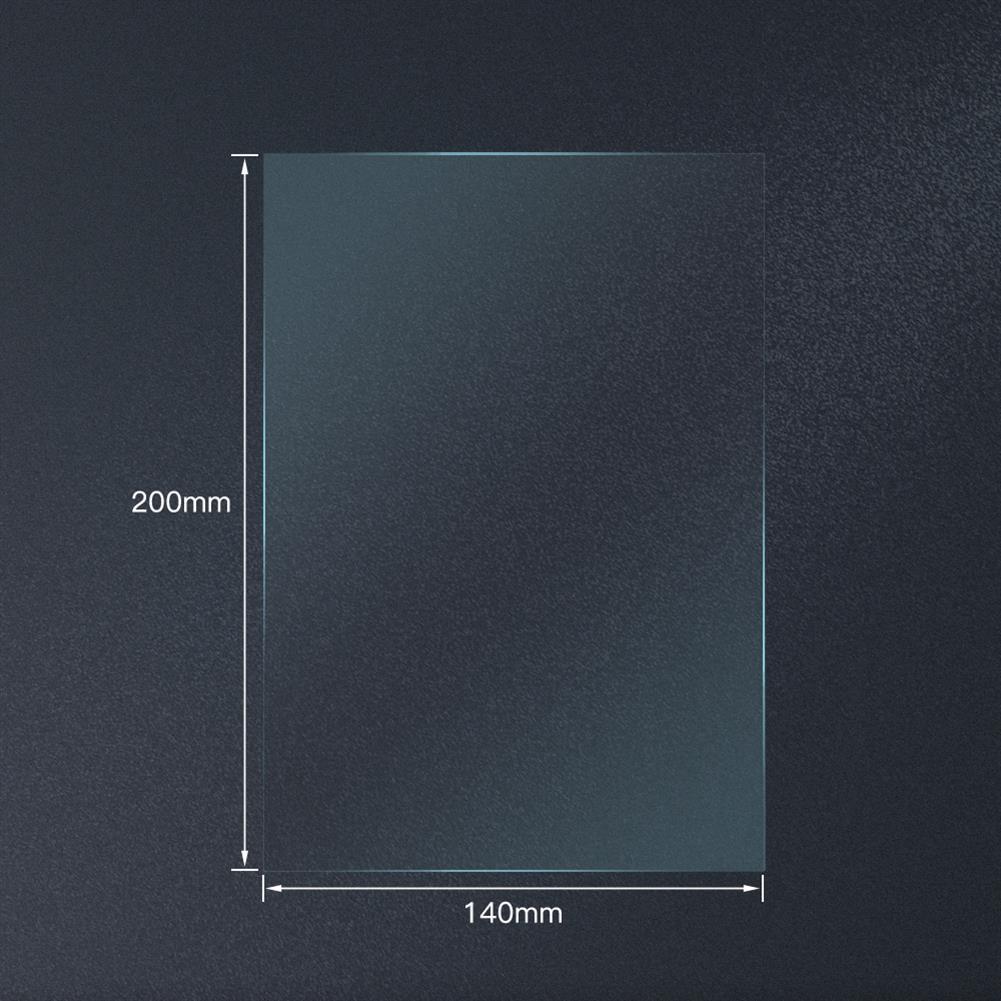 3d-printer-accessories TWOTREESFEP Film 140x200mm Fep Sheets 0.15-0.2mm fits ANYCUBIC Photon Resin UV 3D Printers SLA 3D Printer Parts HOB1807795 1 1