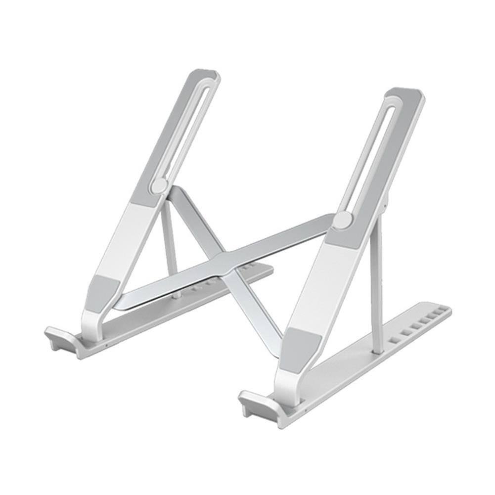 laptop-stands Laptop Stand Portable Foldable Hollow Bottom 8 Gears Height Adjustable Ergonomic Design Bracket for Tablet Laptop HOB1808406 1