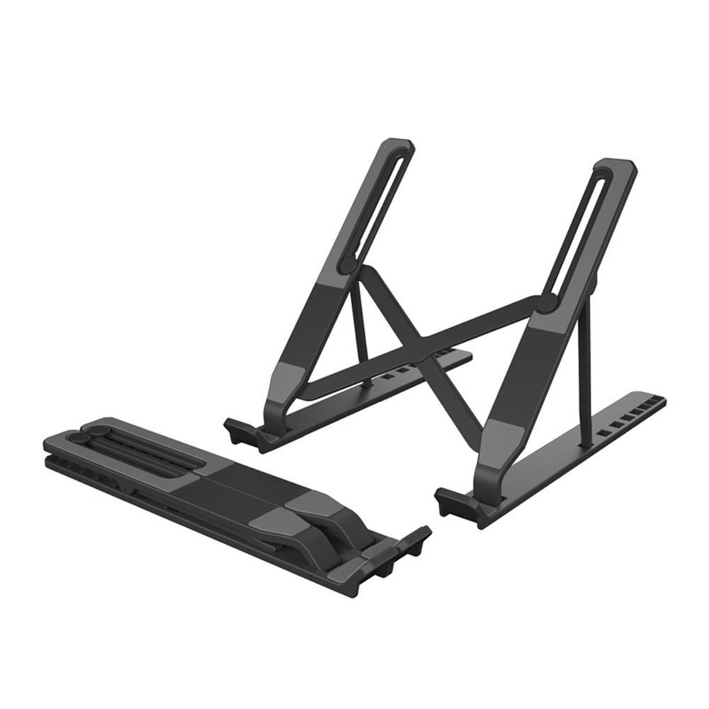laptop-stands Laptop Stand Portable Foldable Hollow Bottom 8 Gears Height Adjustable Ergonomic Design Bracket for Tablet Laptop HOB1808406 1 1