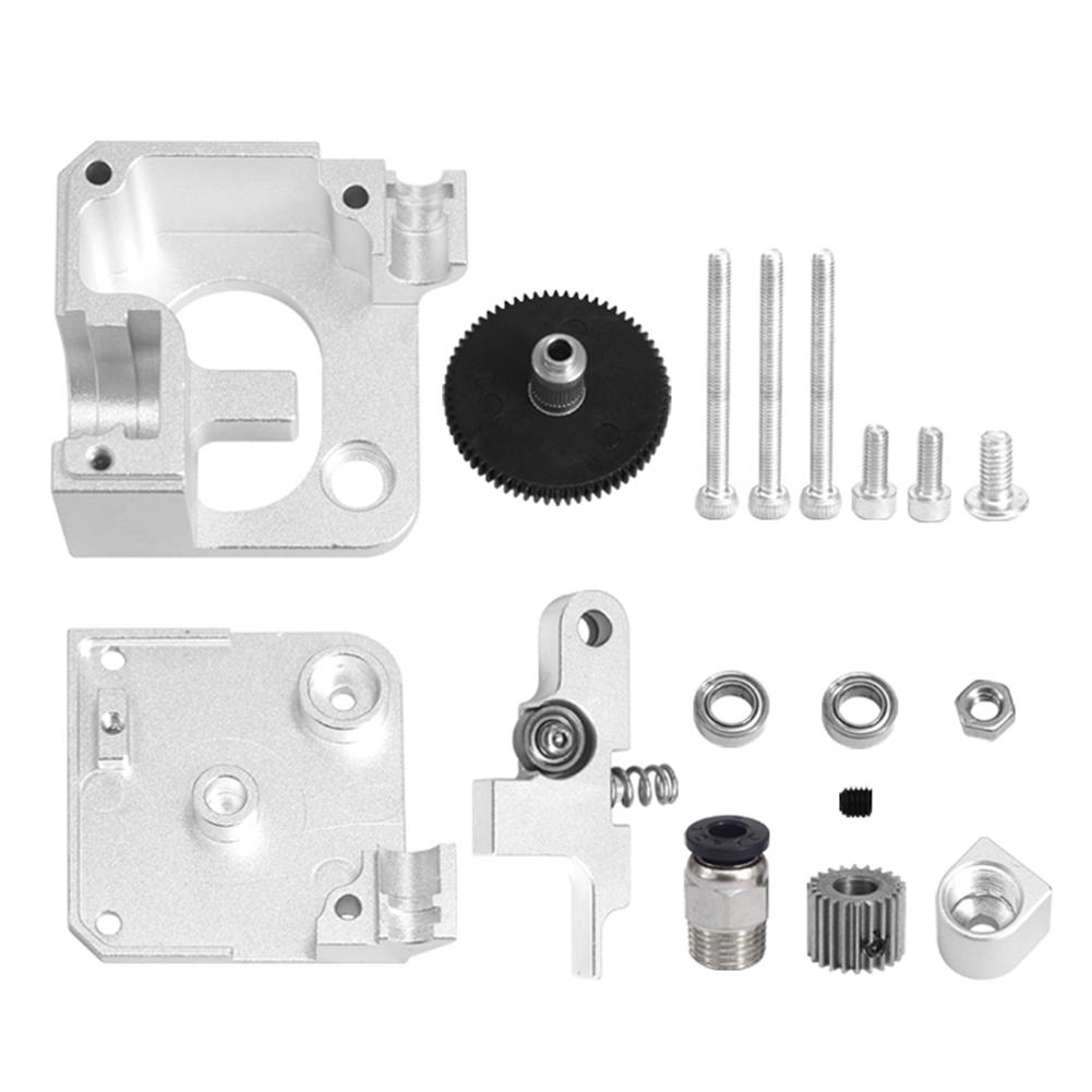 3d-printer-accessories TiTan Extruder Full Metal Kit V6 Remote/Short Range Universal for 1.75mm Filament HOB1809346 1