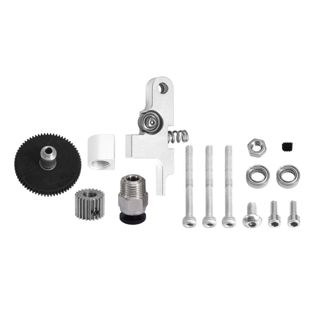 3d-printer-accessories TiTan Extruder Full Metal Kit V6 Remote/Short Range Universal for 1.75mm Filament HOB1809346 2 1