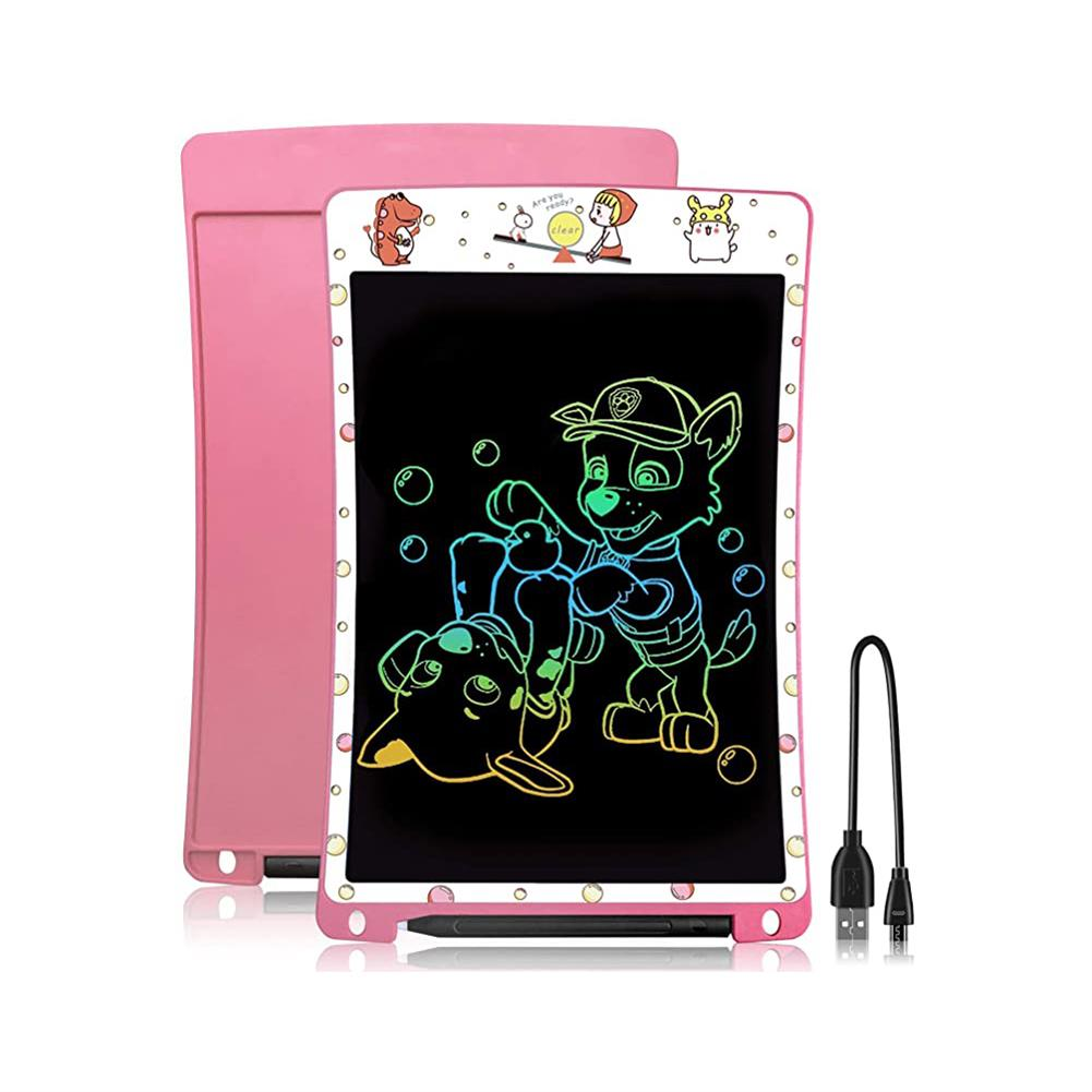 writing-tablet NeWYes 10 inch LCD Writing Tablet Rechargeable Electronic Digital Drawing Board Color Font Message Pad with Pen for Adult Kids HOB1810441 1 1
