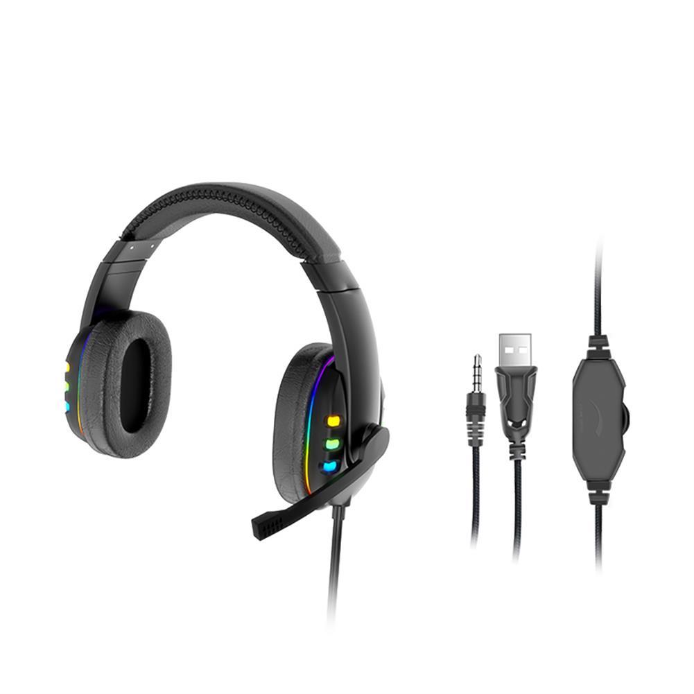 headphones AK 47 Gaming Headset 7.1Virtual Surround Sound 40mm Driver Unit Brilliant RGB LED Light Noise Reduction Mic for PS3/4 PC Laptop HOB1813803 1 1
