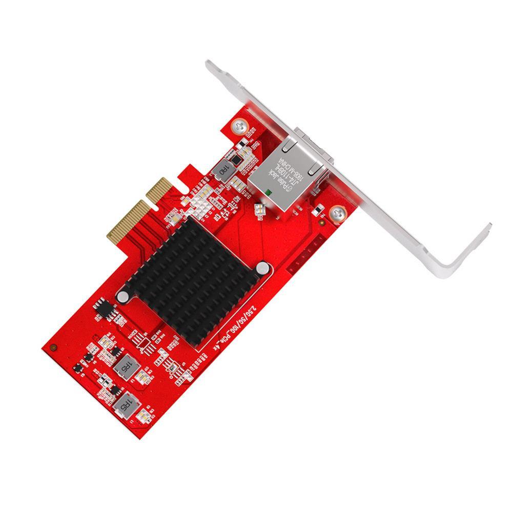 pci-cards EDUP EP-9638 10 Gigabit Ethernet PCI-E Card 10G AQC107 Chip Network Card RJ45 Network Port Adapter for Desktop Computer PC Windows 7/8/10/Linux HOB1815003 3 1
