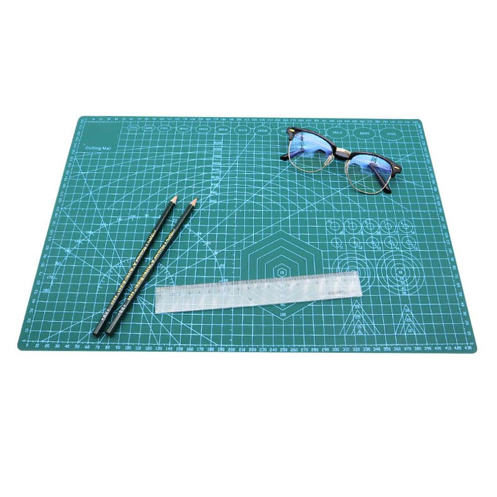 paper-cutter A2/A3/A4 Double Side Cutting Mat Self-healing PVC Craft Scrapbooking Board Patchwork Fabric Paper Craft Cutting Tools for Engineer HOB1815125 1