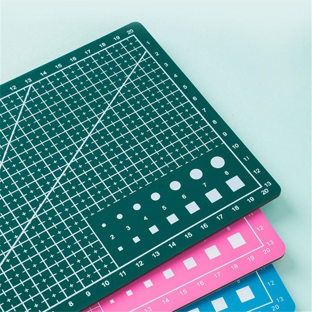 paper-cutter A3/A4 Double Side Cutting Mat Self-healing Craft Scrapbooking Board Patchwork Paper Craft Cutting Tools for Engineer HOB1815169 1