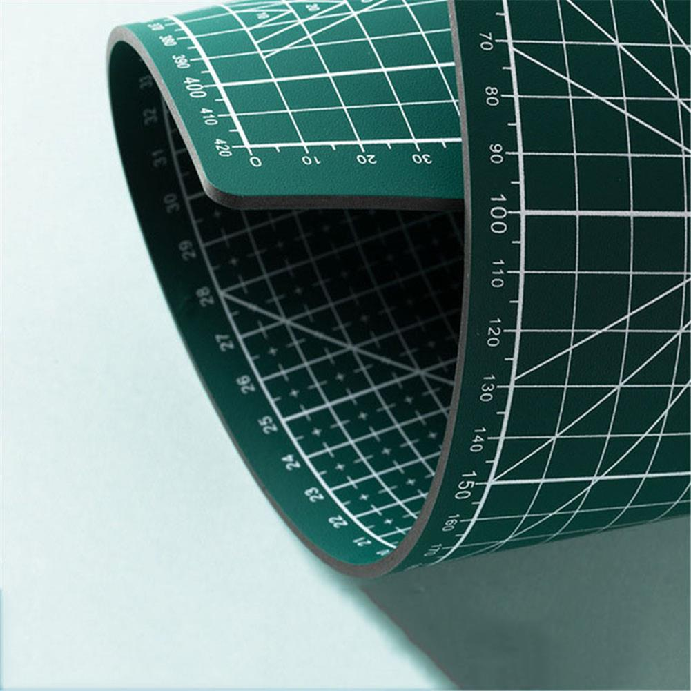 paper-cutter A3/A4 Double Side Cutting Mat Self-healing Craft Scrapbooking Board Patchwork Paper Craft Cutting Tools for Engineer HOB1815169 1 1