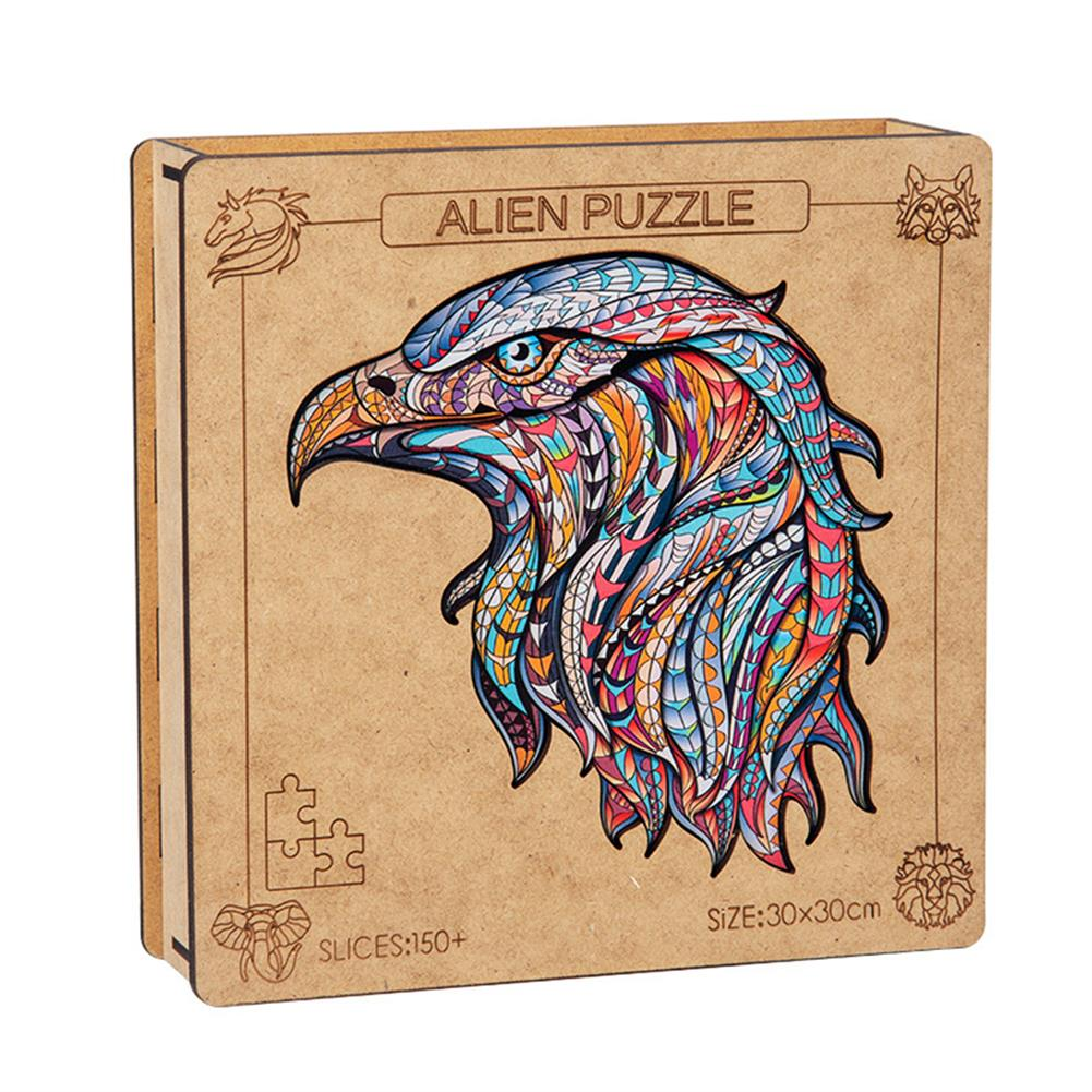 other-learning-office-supplies A3 3D Wooden Puzzle Animal Shape Colorful Mysterious Charming Early Education Puzzle Art Toys Gifts for Childrens Adults HOB1815748 2 1