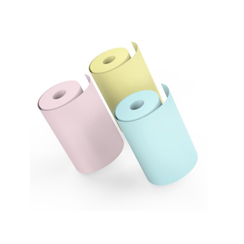 thermal-fax-paper 5 Rolls Colorful 57mm x 30mm thermal Receipt Paper HOB1816724 1