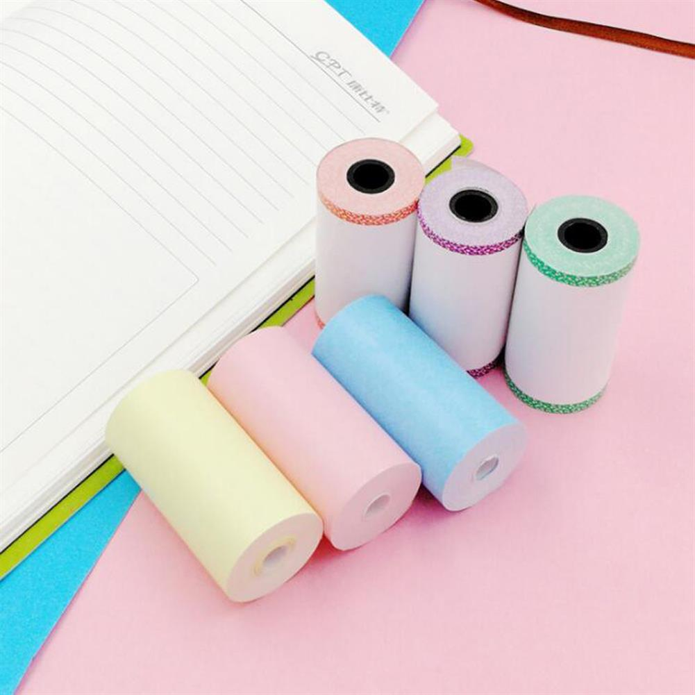 thermal-fax-paper 5 Rolls Colorful 57mm x 30mm thermal Receipt Paper HOB1816724 1 1