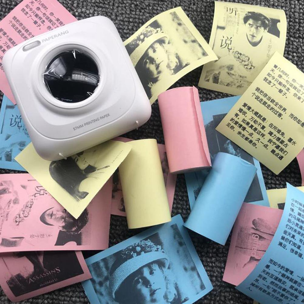 thermal-fax-paper 5 Rolls Colorful 57mm x 30mm thermal Receipt Paper HOB1816724 2 1