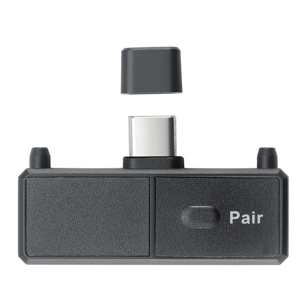 bluetooth-adapters-dongles Type-C bluetooth 5.0 Stereo Audio Transmitter bluetooth Adapter with Mic Plug and Play HOB1817255 1