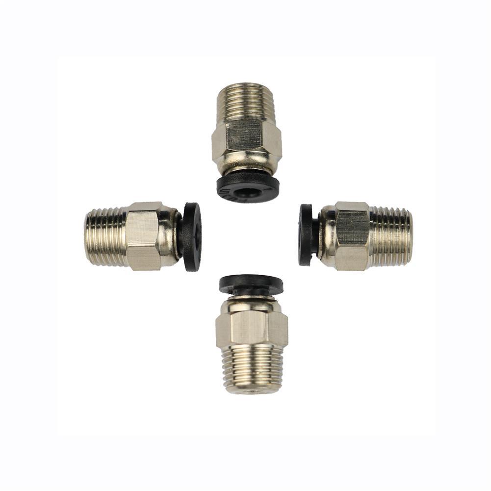 3d-printer-accessories Koonovo 5PCS PC4-01 Pneumatic Straight Connectorsfor 1.75mm PTFE Tube J-Head Extruder Accessories Fitting HOB1817923 1 1