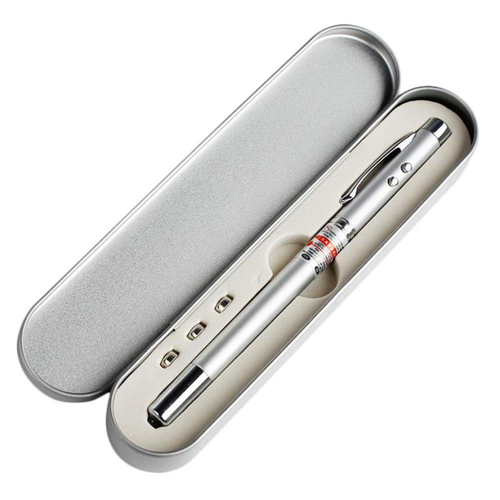 laser-pointer 4 in 1 Multi Function Telescopic Laser Pointer Pen Ball Pen Flashlight Teaching Tools Portable PPT Extendable Red Laser Stylus HOB1818269 1
