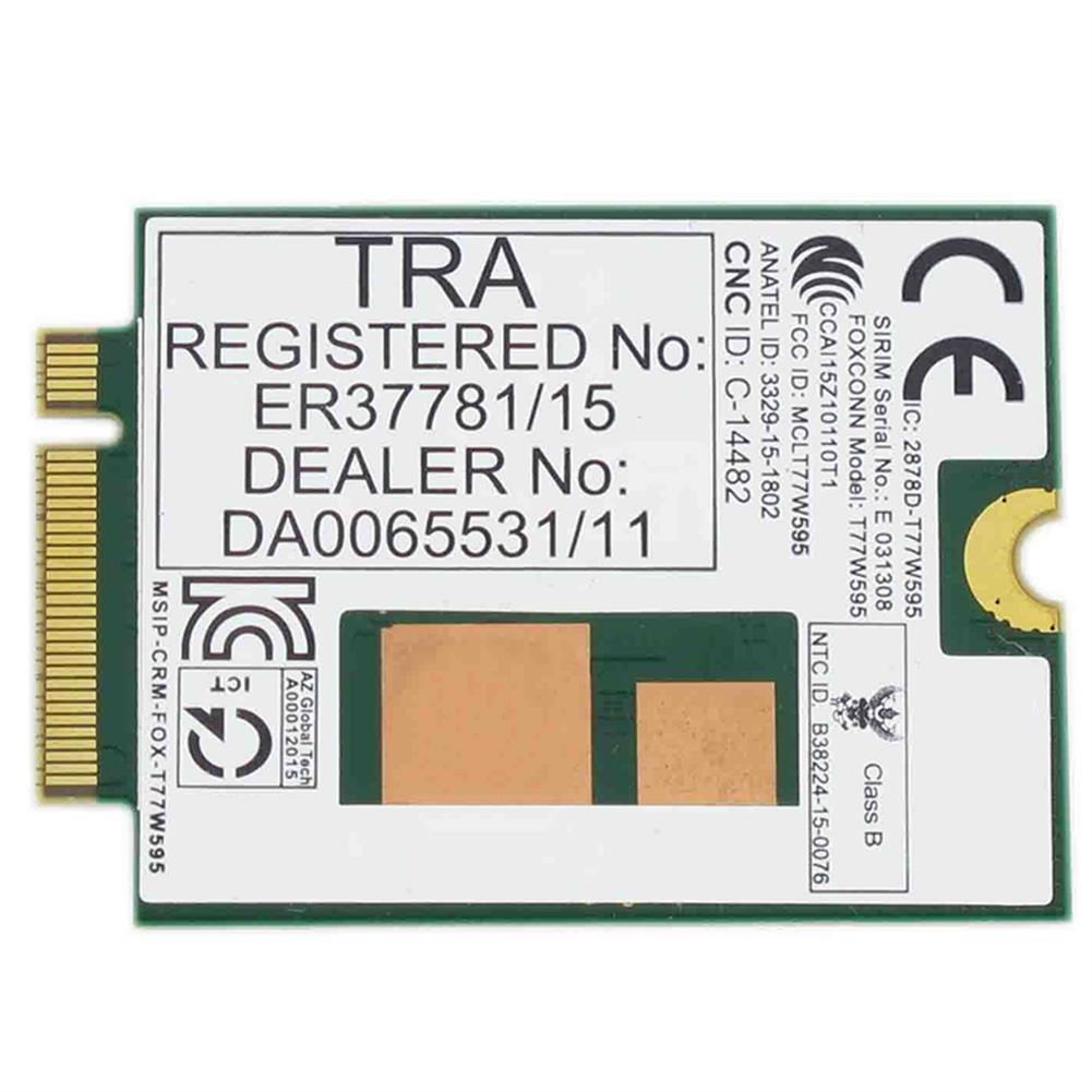 network-cards Lt4120 X5 LTE T77W595 796928-001 4G WWAN M.2 150Mbps LTE Modem for HP Elite X2 840 850 G3 640 650 645 G2 green HOB1818484 1