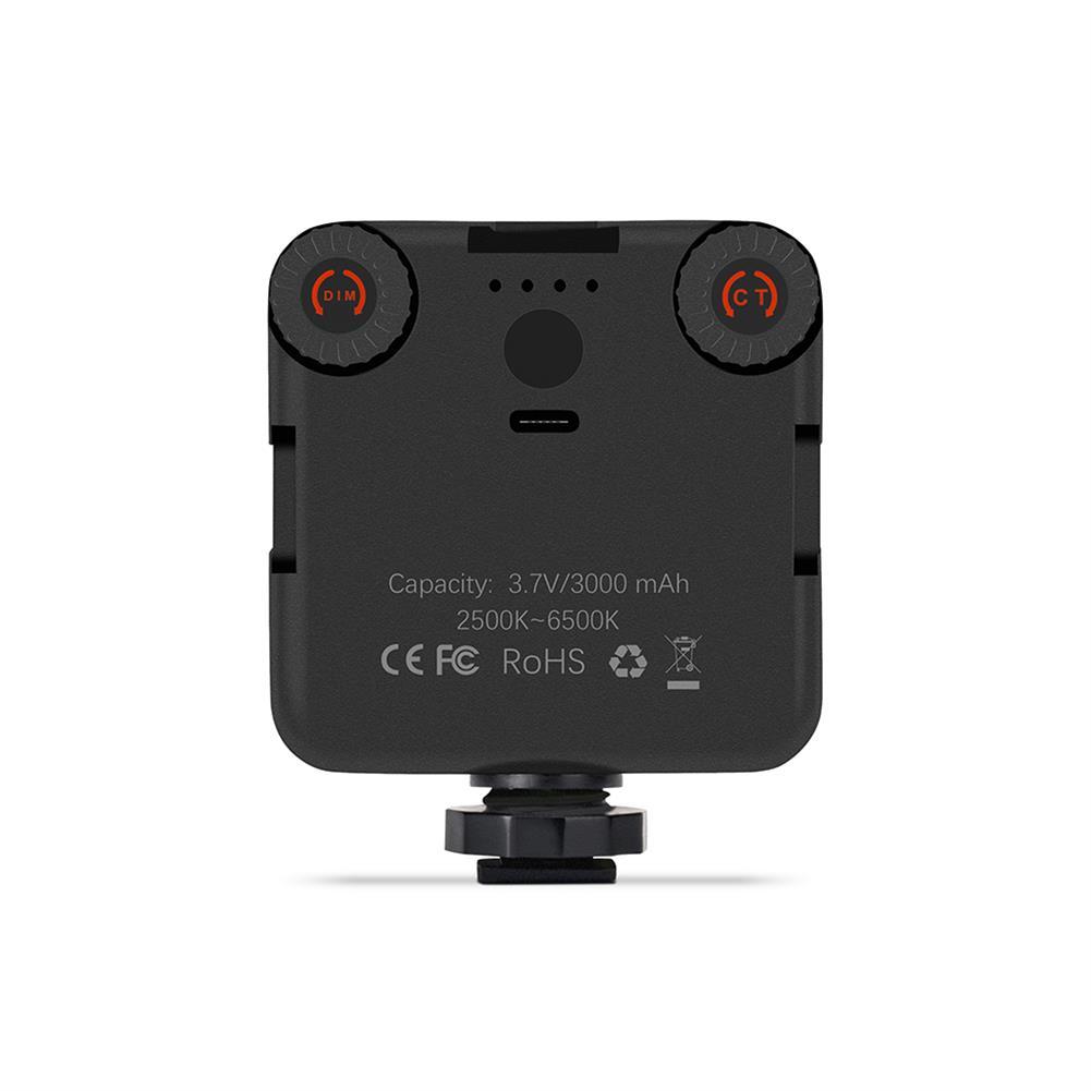 webcams AL81 MINI LED Studio Light Bi-Color Temperature Brightness Changeable 3000mAh Batery 81 LED lights Type-C Charge HOB1818521 1 1