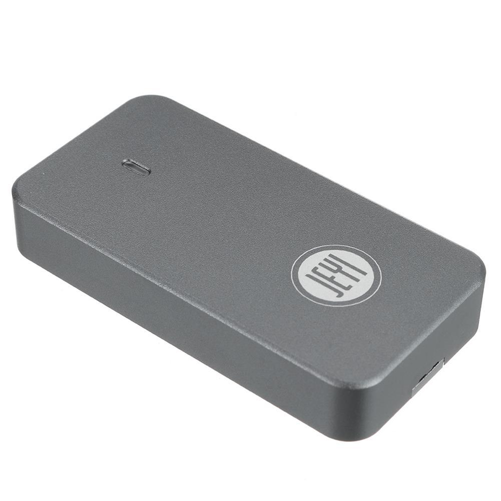 hdd-ssd-enclosures JEYI USB3.1 Type-C to M.2 SATA/NVME External Hard Drive Enclosure Aluminium Alloy M.2 2242 HDD SSD Hard Disk Box Case HOB1819110 1