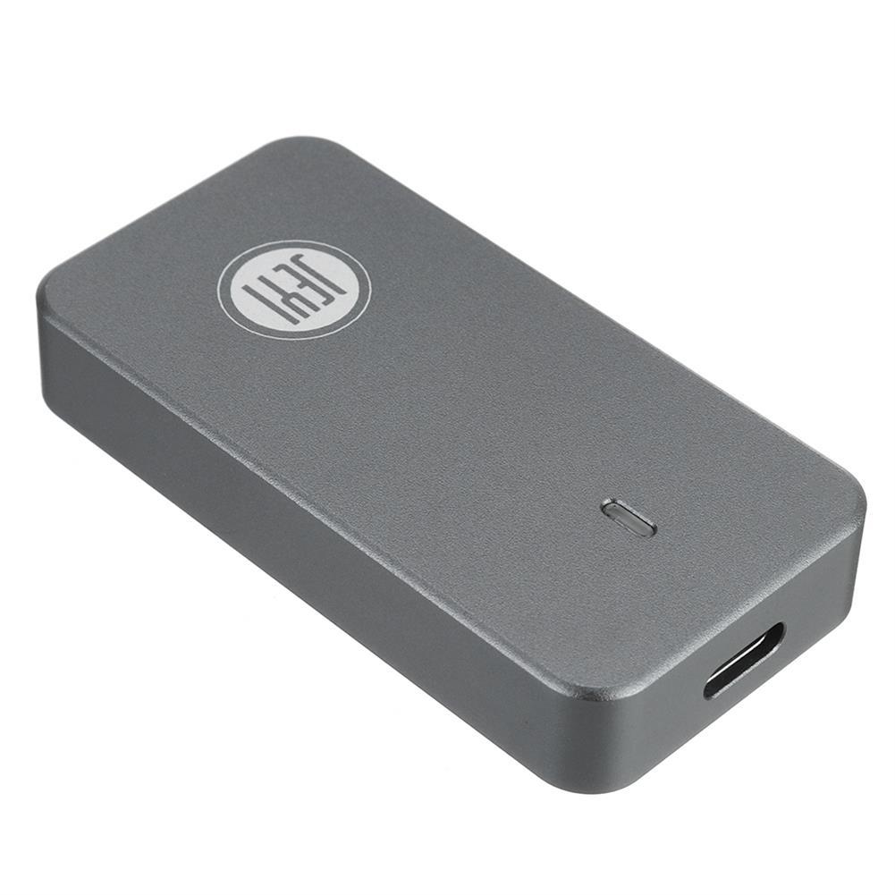 hdd-ssd-enclosures JEYI USB3.1 Type-C to M.2 SATA/NVME External Hard Drive Enclosure Aluminium Alloy M.2 2242 HDD SSD Hard Disk Box Case HOB1819110 1 1