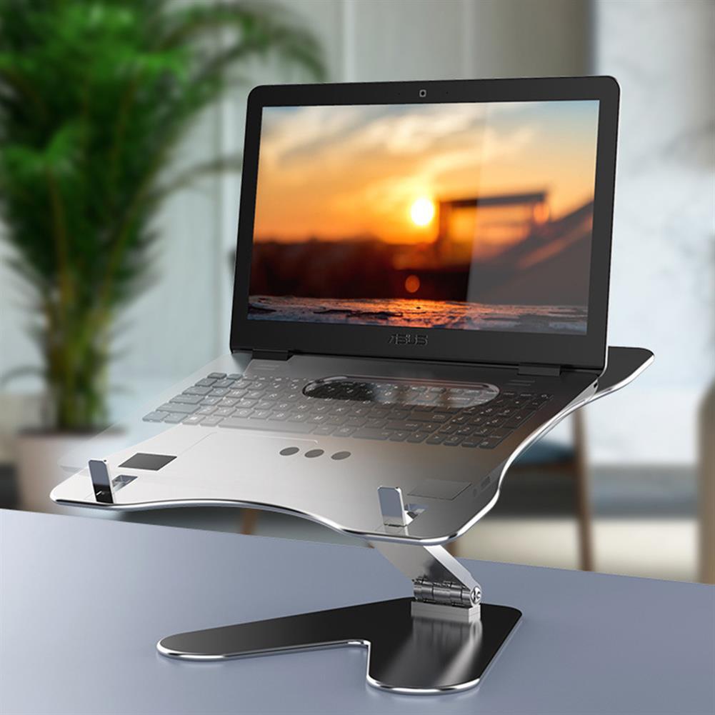 laptop-stands Adjustable Aluminum Alloy Laptop Stand Notebook Stand Screen Riser HOB1820474 1 1