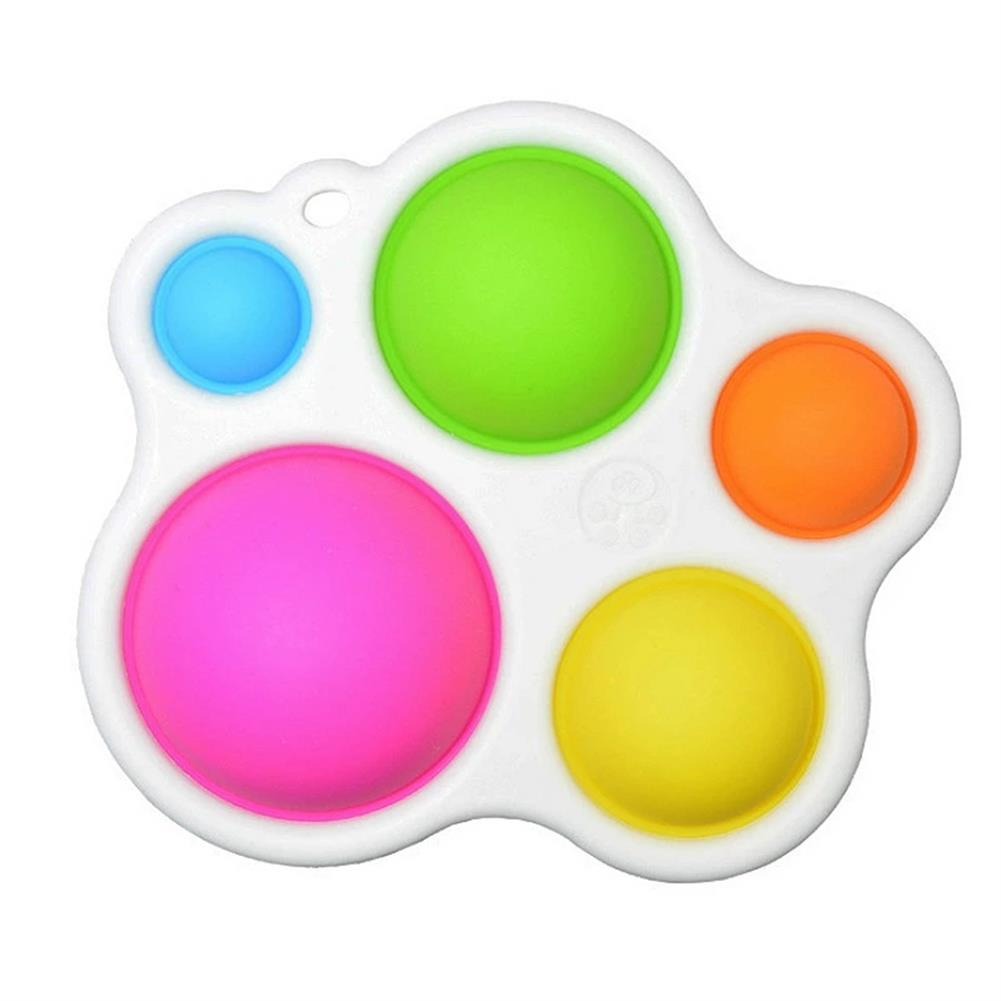 other-learning-office-supplies 1pc Baby infant Early Education intelligence Toys Finger Grip Exercise Color Board intelligence Concentration Training Board HOB1820668 1