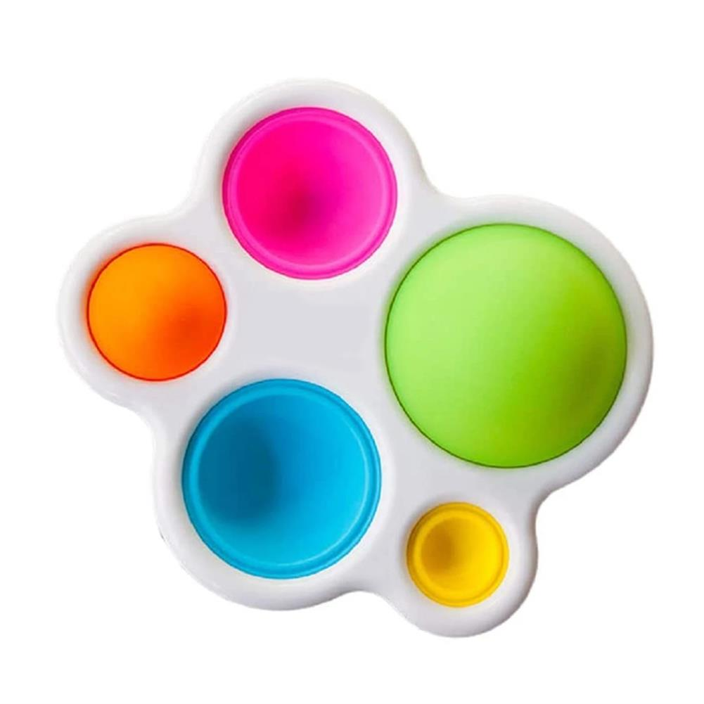 other-learning-office-supplies 1pc Baby infant Early Education intelligence Toys Finger Grip Exercise Color Board intelligence Concentration Training Board HOB1820668 1 1