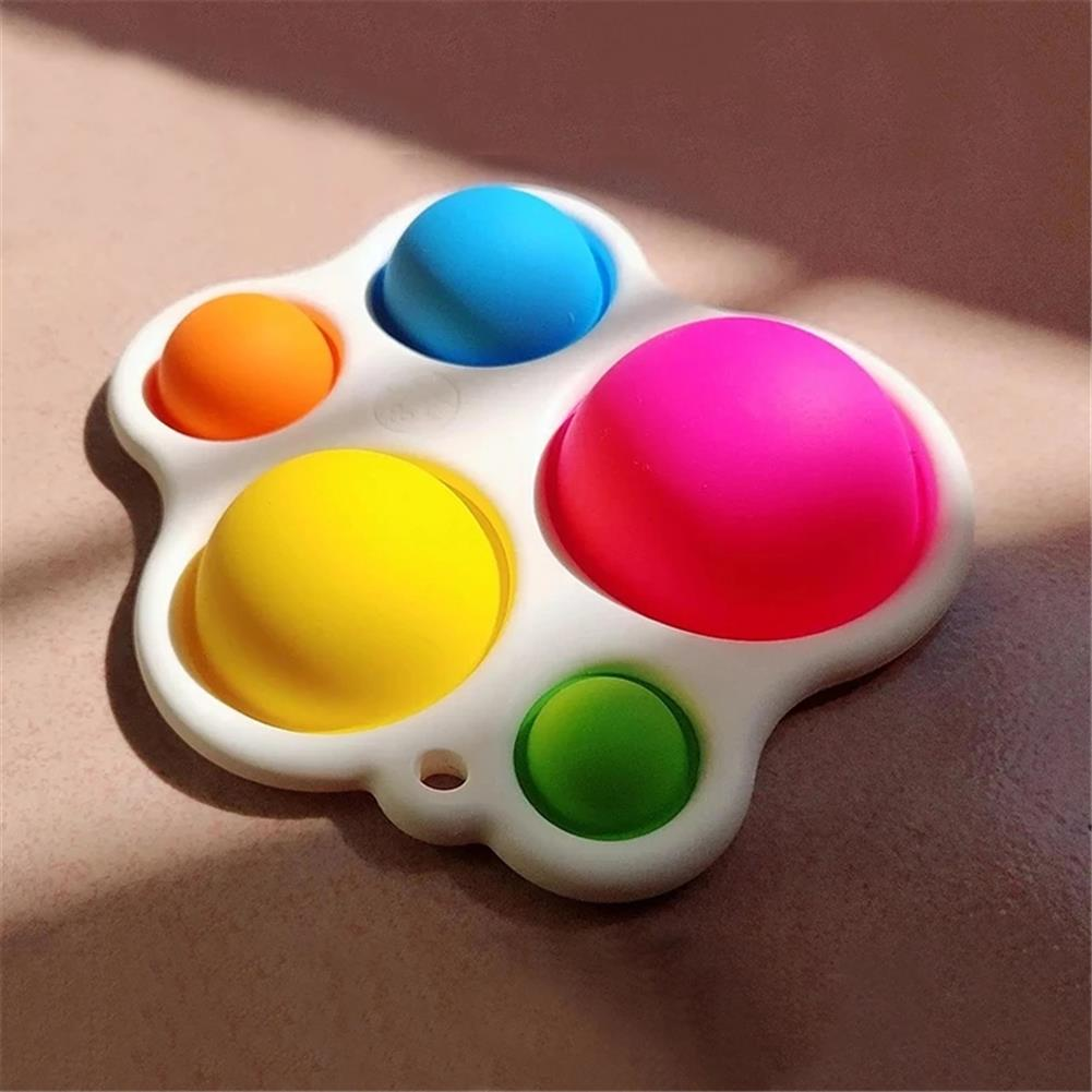 other-learning-office-supplies 1pc Baby infant Early Education intelligence Toys Finger Grip Exercise Color Board intelligence Concentration Training Board HOB1820668 2 1