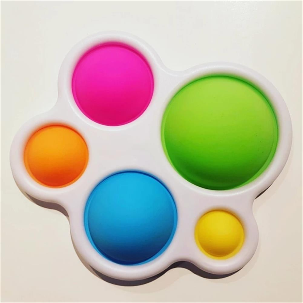 other-learning-office-supplies 1pc Baby infant Early Education intelligence Toys Finger Grip Exercise Color Board intelligence Concentration Training Board HOB1820668 3 1