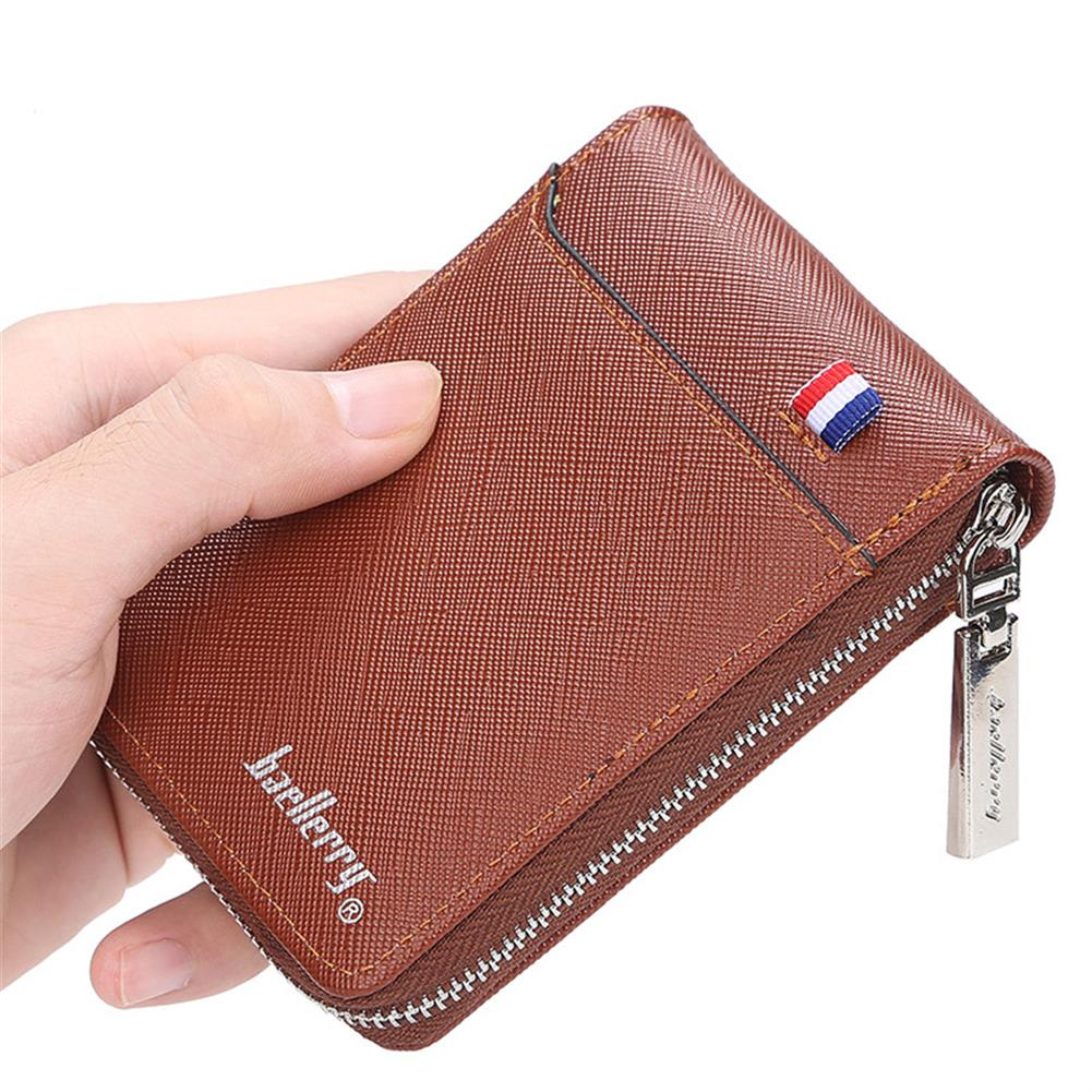 business-card-book Baellerry K9105 Business Card Holder Portable Wallets for Men Multi Card Hole Business ID Credit Card Storage Creative Gifts HOB1820735 1