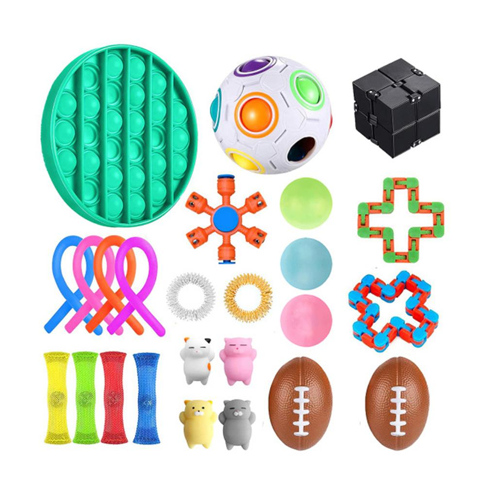 other-learning-office-supplies Fidget Toys Sensory Set Anti Stress Relief Fidget Bubble Toys Decompression Artifact Hand Toys for Kid Adults HOB1825138 1