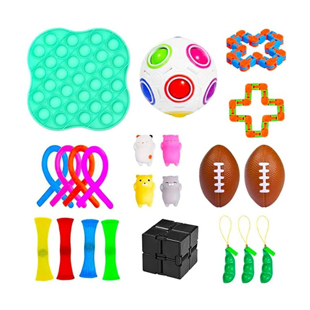 other-learning-office-supplies Fidget Toys Sensory Set Anti Stress Relief Fidget Bubble Toys Decompression Artifact Hand Toys for Kid Adults HOB1825138 2 1