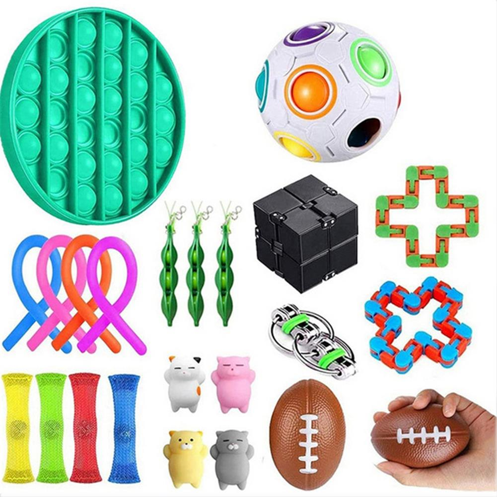 other-learning-office-supplies Fidget Toys Sensory Set Anti Stress Relief Fidget Bubble Toys Decompression Artifact Hand Toys for Kid Adults HOB1825138 3 1