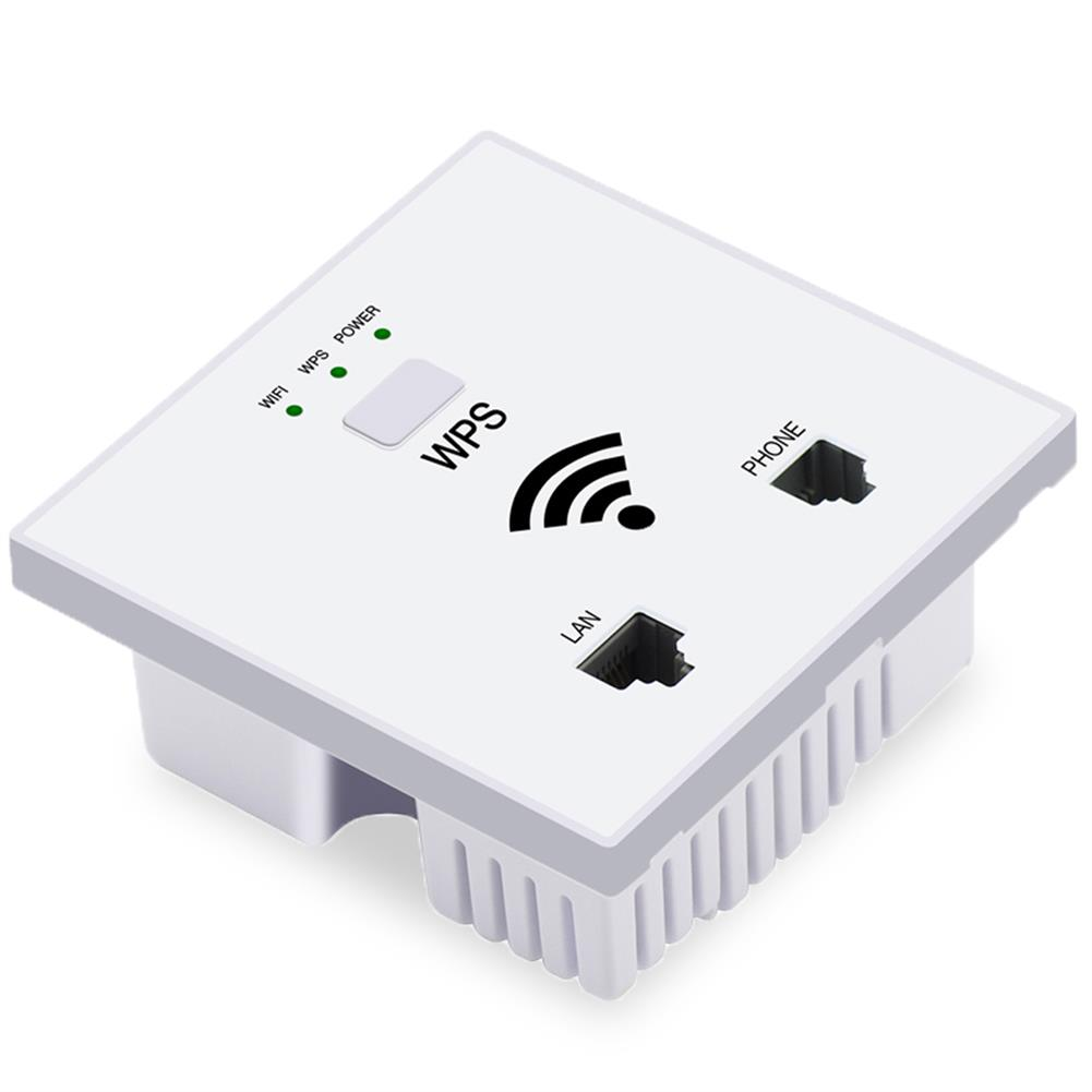access-points OUTENGDA 300Mbps in Wall AP Wireless Access Point WiFi Socket for Hotel Home WPS Encryption HOB1829078 1 1