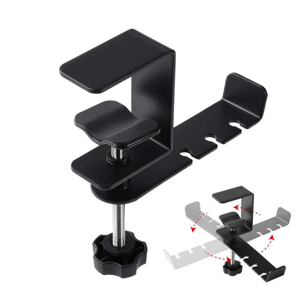 monitor-arms-stands Headphone Holder E-Sports Game Headset Holder 360-Degree Rotatable Metal Headset HOB1829288 1
