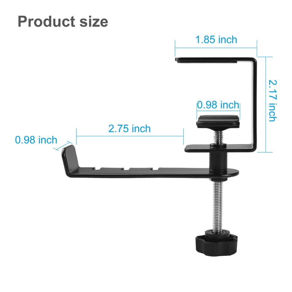 monitor-arms-stands Headphone Holder E-Sports Game Headset Holder 360-Degree Rotatable Metal Headset HOB1829288 1 1