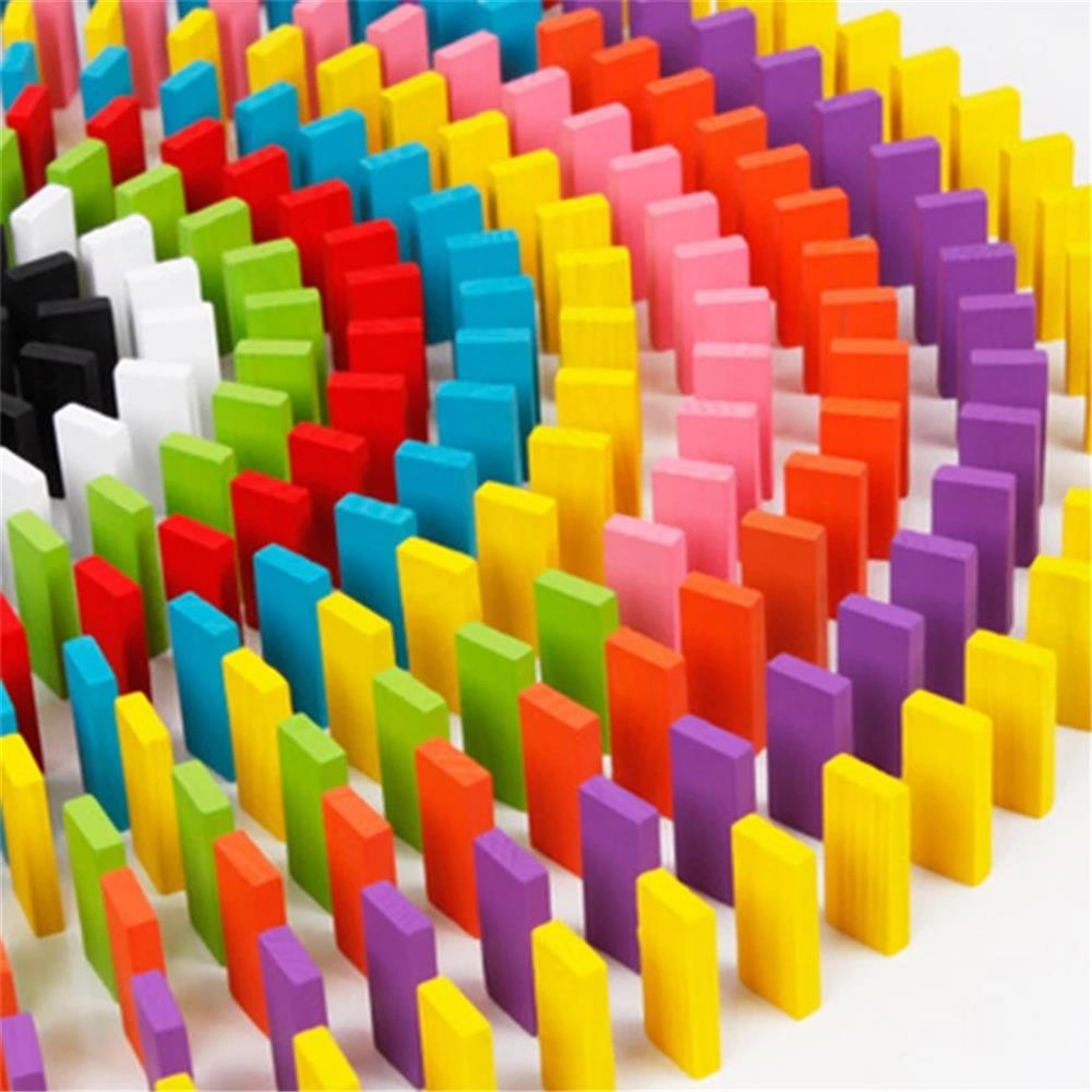 other-learning-office-supplies 240 pcs Wooden Domino Multicolor intelligence Development Early Education Puzzle Toys Creative Gifts for Childrens HOB1829435 3 1