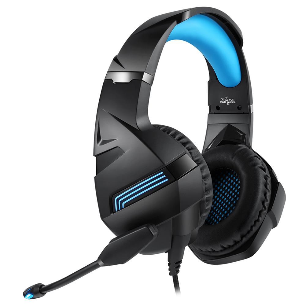 headphones A2 Gaming Headset LED Noise Reduction Omnidirectional HD Microphone 40mm Unit 3.5mm Audio Plug+USB Line Control HOB1829494 2 1