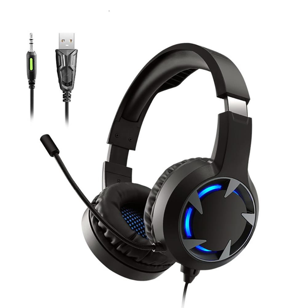 headphones A9 Gamsing Headset Headphones Over-Ear Lightweight Headsets with Mic for PS4 PC Mobile Phone LED Light Headset Gamer HOB1829495 1