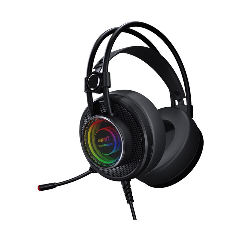 headphones K1 Gaming Headset Virtual 7.1 Channel 50mm Driver Unit RGB Light High Sensitivity Microphone Headphone for PC HOB1829874 1 1