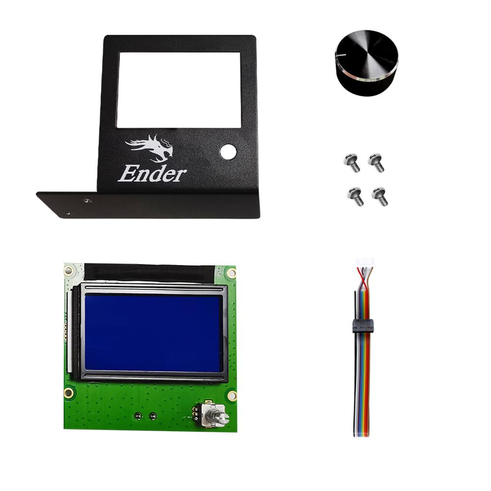 3d-printer-accessories Creality 3D Ender-3 Series Touch Screen Kit 4.3-inch Full-color Screen for 3D Printer Part HOB1829893 1