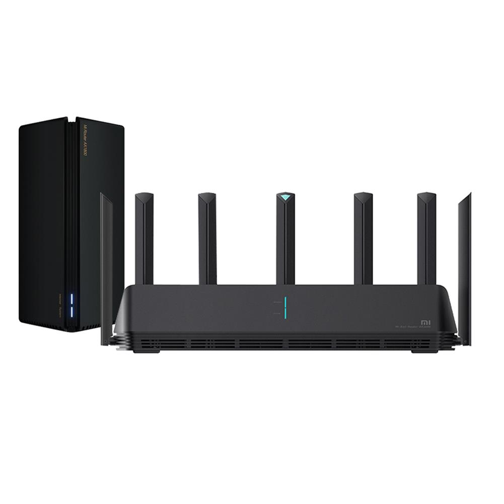 routers [Mesh Network] Xiaomi AX3600 WiFi 6 Router + Xiaomi AX1800 Router Mesh Networking System for Home HOB1831471 1