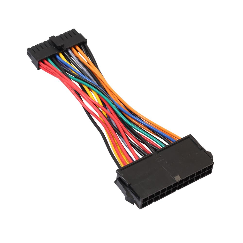 power-cables-connectors REXLIS ATX PSU Standard 24Pin to Mini 24P internal Power Cable Adapter 15cm Converter HOB1833062 1