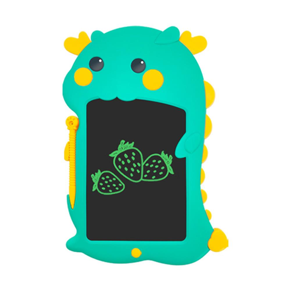 writing-tablet Aituxie LCD Writing Tablet Paperless Monochrome Green Handwriting Eye Protection for Child Learning Doodle Board Cut Dragon Gift for Kids HOB1833472 1