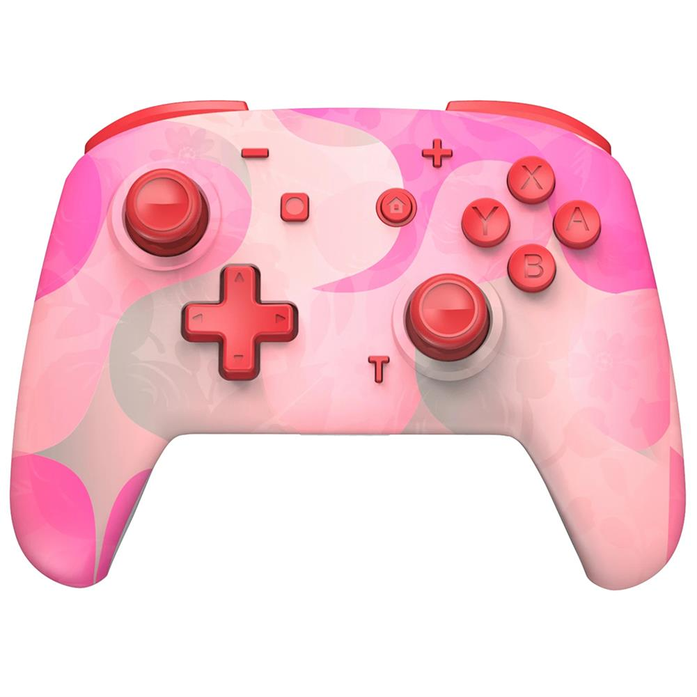 pc-gaming-controllers EasySMX YS06 Colorful Pink/Green bluetooth Controller Wireless Gampad 3 Adjustable Vibration 6-Axis Gyro Dual Shock Turbo for Nintendo Switch PC HOB1833566 1