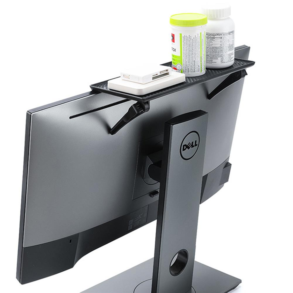 monitor-arms-stands Large Storage Stand Computer Monitor Storage Rack Daily Accessories Routers Remotes Storage Bracket HOB1833854 1 1