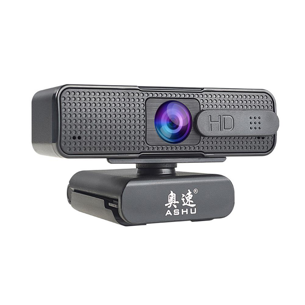 webcams ASHU H701 1080P HD Webcam Digital Noise Reduction Microphone Autofocus Lens Plug and Play with Multifunctional Base HOB1836925 1 1