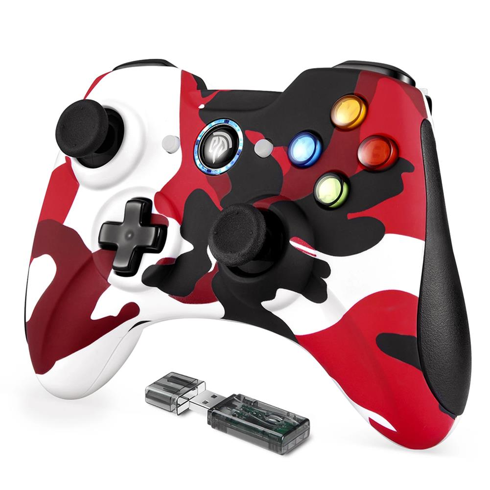 pc-gaming-controllers EasySMX KC-8236 2.4G Wireless Joystick PC Controller Gamepad for PS3 Android Phone TV Box Vibration Chargable Control HOB1839077 1 1