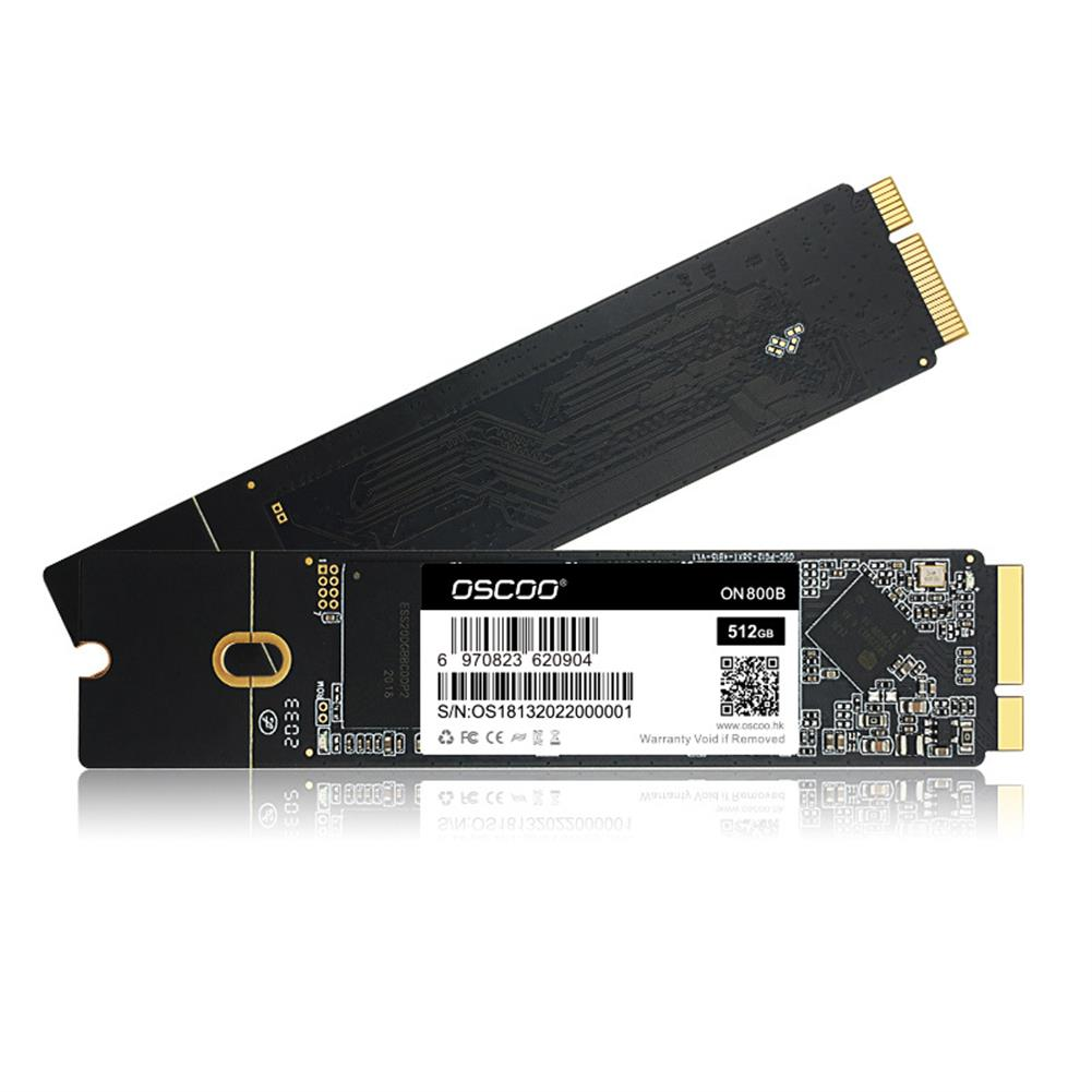 solid-state-drives OSCOO ON800B SSD for Macbook Air A1465 A1466 Macbook Pro A1398 A1425 M.2 SATA3 Solid State Drive for Mac HOB1839991 1